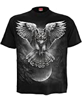 Spiral - Mens - Wings of Wisdom - T-Shirt Black - L