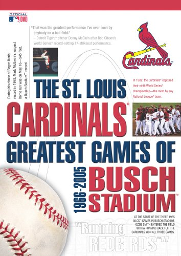 The St. Louis Cardinals - Greatest Games of Busch Stadium 1966-2005 by A&E