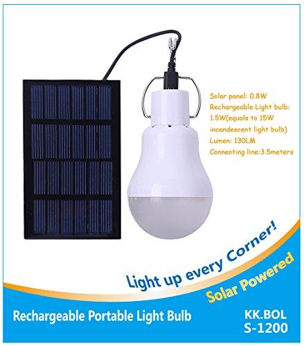 Kkl portable solar led light bulb rechargeable solar lamp s 1200 bol portable solar led light bulb rechargeable solar lamp s 1200 01 for outdoor lighting aloadofball Images