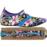 FITKICKS Womens Shoes with FITZIP Waist Pack, Lush Life Shoe (Small (5.5-6.5), Lush Life)
