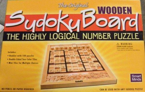 Wooden Sudoku - Smart Minds The Original Wooden Sudoku Board