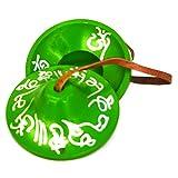 Tibetan Handmade Yoga Meditation Buddhist Lucky Mantra Tingsha Bell Chimes Cymbals 3