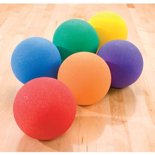 Super Textured Foam Balls (Super Textured Foam Balls Set, 6-Inch)