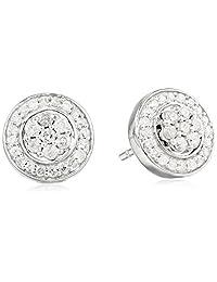 Diamond Jackets Stud Earrings ( 1/2 cttw, I-J Color, I2-I3 Clarity)