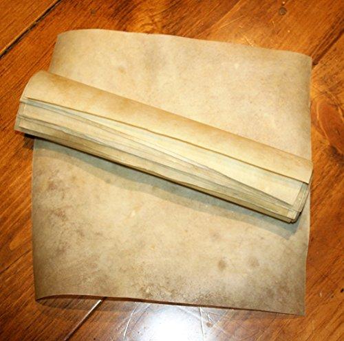 Natural Goatskin Vellum Parchment 12 x 12 inches