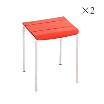 Restaurant Tabouret En Plastique Adulte Chaise Haute Banc Table De Menage Epaissir