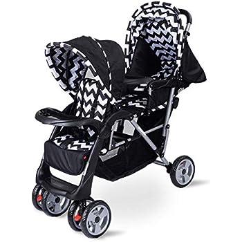 Amazon Com Honey Joy Double Stroller Infant Baby