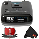 Escort X80 Long Range Radar/Laser Detector with 2 Year Warranty