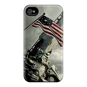 Cute Appearance Cover/tpu Washington Monument Case For Iphone 4/4s