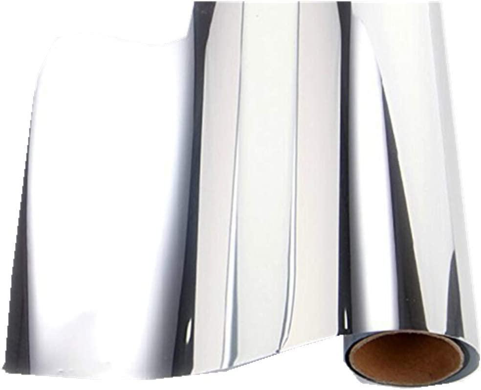 Self Adhesive Silver Chrome Faux Leather Trim