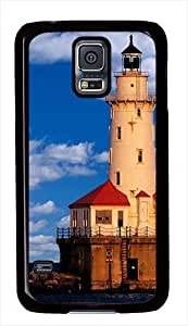 Chicago Lighthouse Custom Samsung Galaxy S5 Case Cover - Polycarbonate - Black