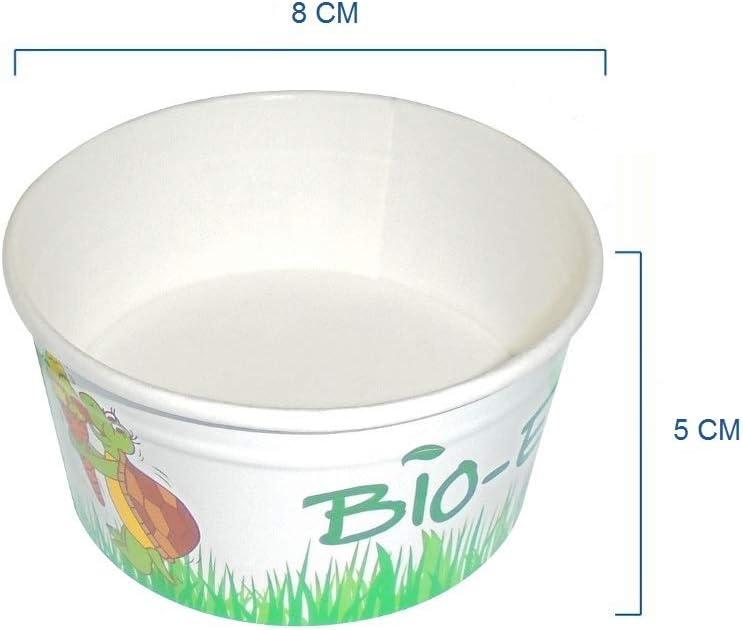 IMBALLAGGI envases Unidades 50 Copa Helado CC 160 compostable y ...