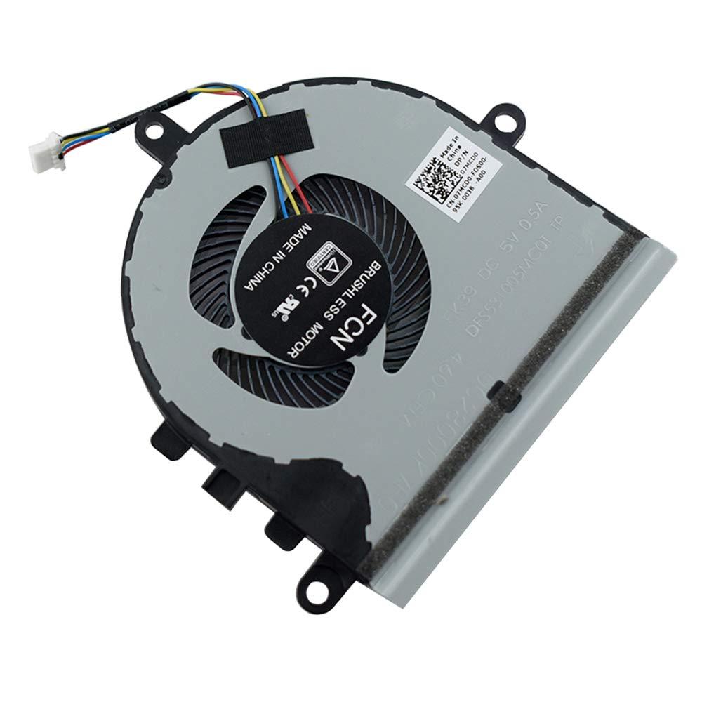 Cooler Para Dell Inspiron 15 5570 5575 P75f 15-5570 I5575-a214slv-pus Series 07mcd0 7mcd0 Dfs531005mc0t Fk39
