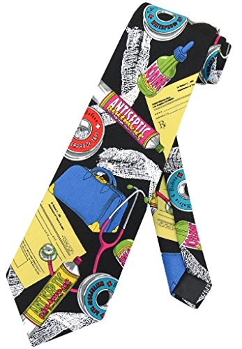 (Doctor Profession NeckTie Medical Themed Mens Neck Tie)