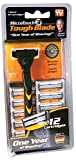 tough blade razor - Micro Touch Triple-Blade Razor with Refill Cartridges, 12 Count