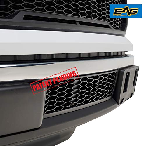 EAG Lower Bumper Grilles Matte Black Grill Fit for 09-14 Ford F150 OE Bumper