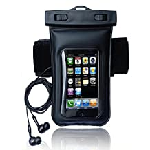 Underwater Sport Swiming Diving Boating Fishing Tubing Waterproof Dry Pouch Bag Case Cover with Earphone Headphone For Cell Phone,MP3, MP4, iPod Touch Unversal