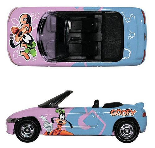 1/50 Honda ビート・グーフィーR(ピンク×スカイブルー) 「ディズニー トミカコレクション D-18」