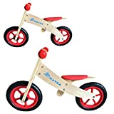 Maxtra 2 in 1 Wooden Balance Bike No Pedal Push Bicycle For Ages 2 to 5...