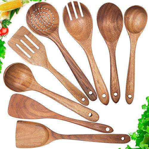 Wooden Spoons for CookingNonstick