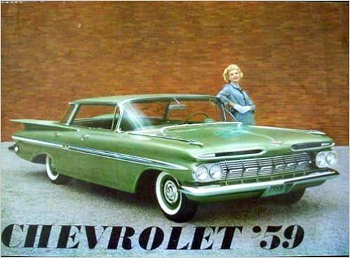 1959 Chevrolet Dealership Sales Brochure For Imala Sport