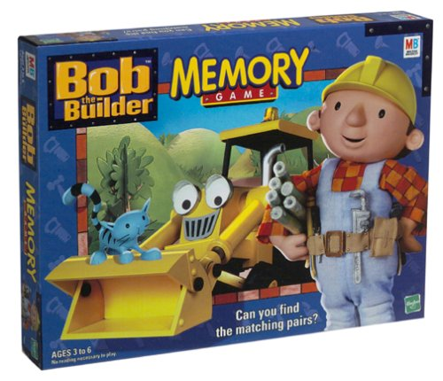 Bob the Builder Memory Game by Milton Bradley