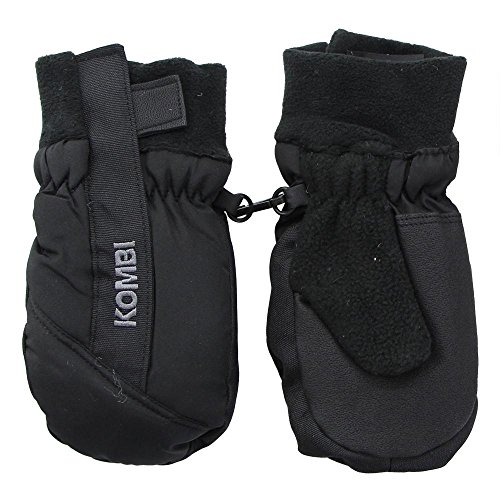 Kombi Kids & Baby Spark Cold Weather Mittens, Small, Black