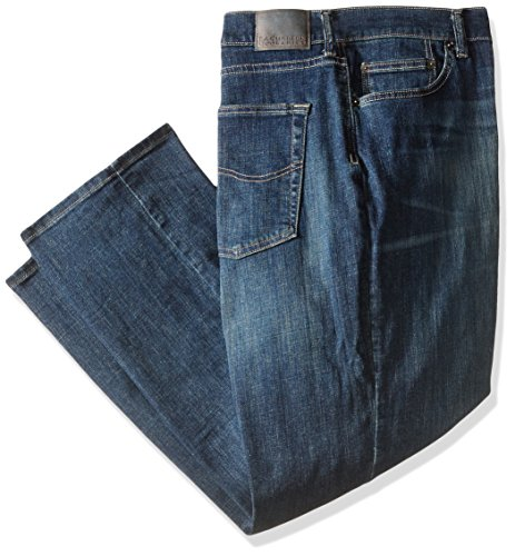 LEE Men's Big and Tall Modern Series Athletic Fit Jean,Roost,48W x 34L Lee Mens Relaxed Fit Jean