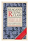 img - for Reagan's Ruling Class by Nina Easton (1983-04-12) book / textbook / text book