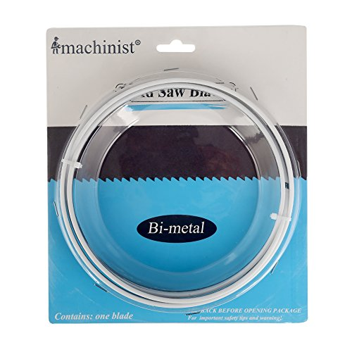 Imachinist S9351214 Metal Cutting Bi-metal Band Saw Blades 93-1/2