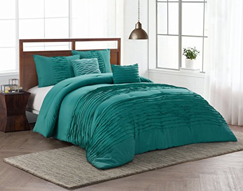 Avondale Manor Spain 5 Piece Comforter Set, King, Teal by Avondale Manor
