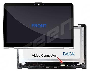 HP ENVY x360 m6-aq005dx w2 K41ua Touch Asamblea nuevo repuesto pantalla LCD para portátil LED Full HD brillante: Amazon.es: Informática