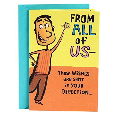Hallmark Funny Get Well Greeting Card (from All of Us, Your Cheering Section) (Funny Get Well Soon Messages After Surgery)
