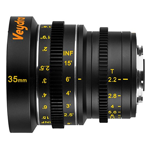 Veydra V1-35T22M43I Mini Prime 35mm T2.2 Imperial Cinema ...