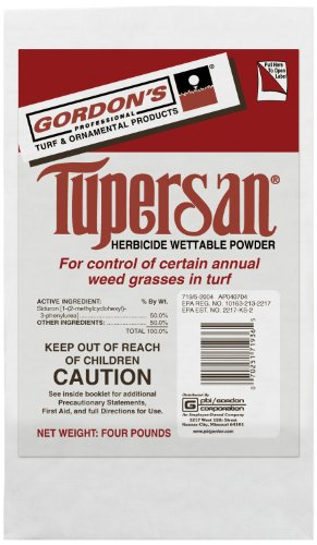 PBI/Gordon 7193216 Tupersan WP Pre Emergent Turf Herbicide, 4-Pound