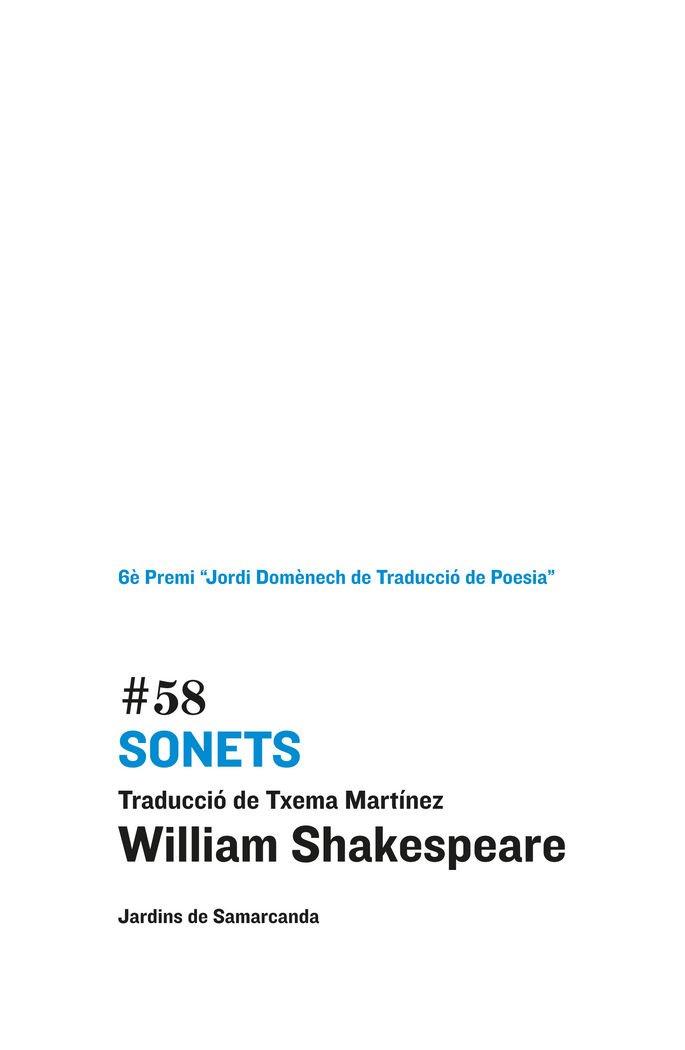 (CAT).#58 SONETS pdf epub