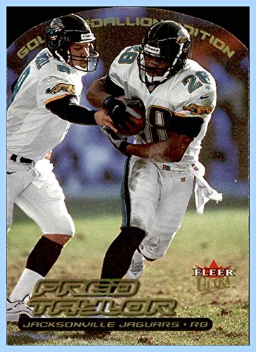 2000 Ultra Gold Medallion #130 Fred Taylor JACKSONVILLE JAGUARS FLORIDA GATORS ()