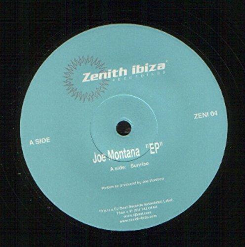 Joe Montana EP SUNRISE / SKYDIVER / LUV vinyl record