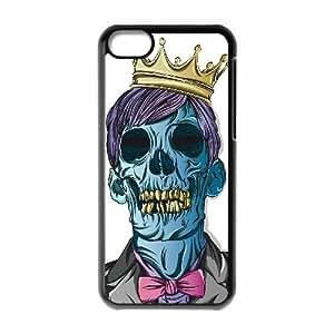 WJHSSB Skull Art 6 Phone Case For Iphone 5C [Pattern-2]
