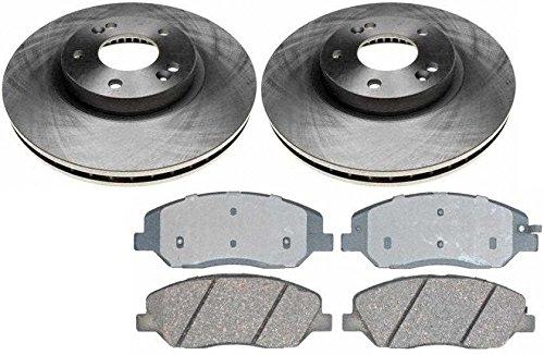 02 Brake Rotors Ceramic Pads - 6