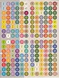 doTERRA Essential Oil Cap Sticker Labels Sheet | 192 Stickers Total
