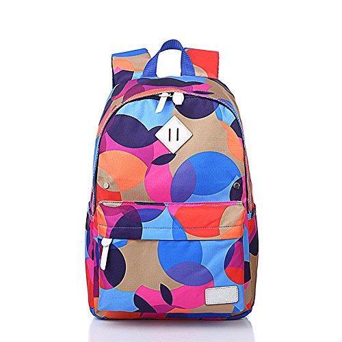 FOLLOWUS - Bolso mochila  para mujer multicolor camouflage