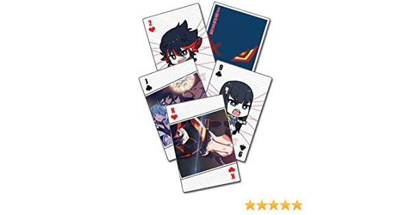 Playing Cards Kill La Kill