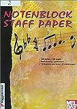 Notenblock Manuscript Paper, Voggenreiter, 0786652691