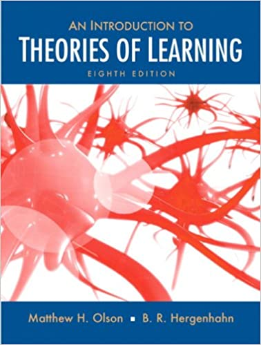 Introduction to the theories of learning 8th edition matthew h introduction to the theories of learning 8th edition matthew h olson br h hergenhahn phd professor emeritus 9780136057727 amazon books fandeluxe Image collections