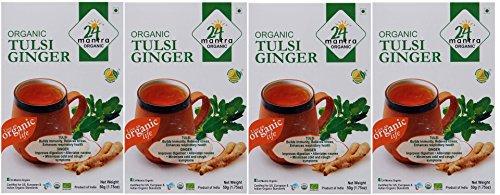 Organic Tulsi Ginger Tea - ★ USDA Certified Organic - ★