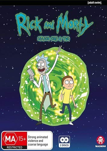 DVD : Rick & Morty: Seasons 1 & 2 [Blu-ray]