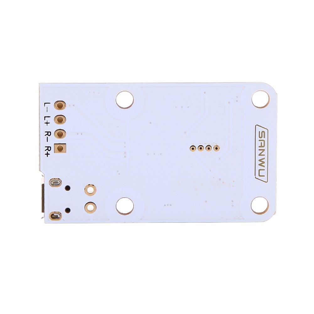DC 5V 2/×3W Micro USB Bluetooth Audio Receiver Digital Amplifier Board Module