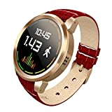 Scinex Halo Smart watch Android 5.1 (Gold Red)