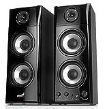 Genius SP-HF1800A 50 W Three-way Hi-Fi Wood Speakers